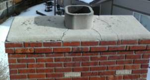 Denver Chimney cap, masonry repair